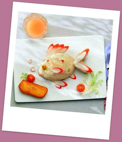Petit poisson en salade krist 39 l cuisine for Salade pour accompagner poisson